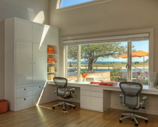 Inspiring 2 Person Desk For Home Office And Work Station  Great