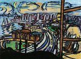 Max Beckmann: San Francisco, 1950 Hessisches Landesmuseum Darmstadt ⓒ VG Bild-Kunst, Bonn 2013