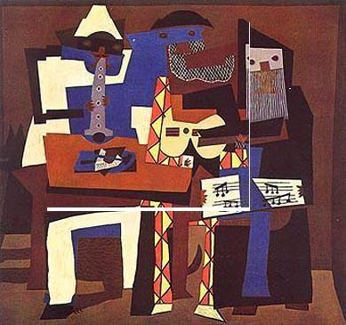 I tre musici, 1921, olio su tela, Museum of Modern Art, New York