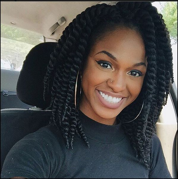 Cute Crochet Havana Bob Twists Look