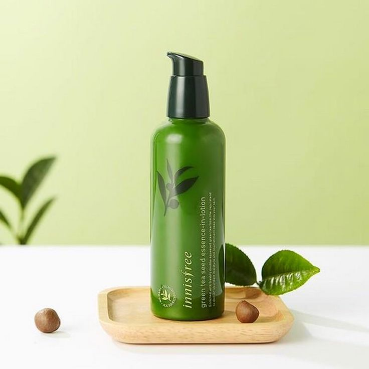 Minta Innisfree Green Tea Seed Essence In Lotion Oh My Brush Beauty Products Photography Best Skincare Products Lotion