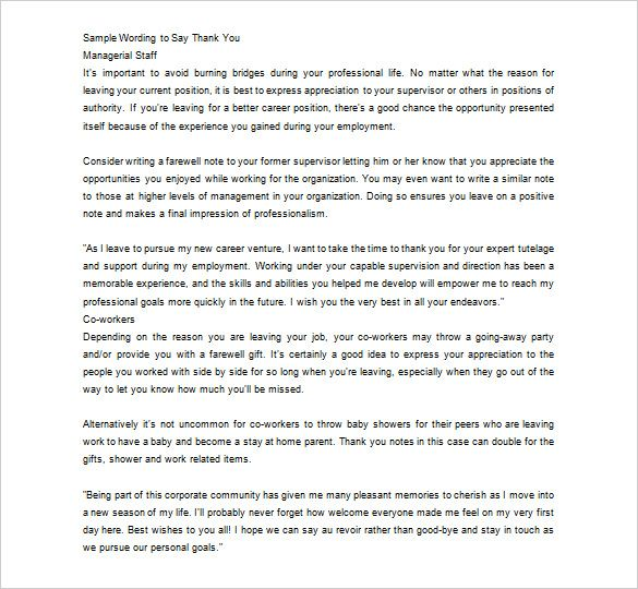 Best 25+ Appreciation letter to boss ideas on Pinterest New - professional thank you letter