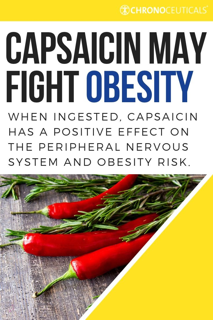 New Study Suggests Capsaicin Fights Obesity Obesity Peripheral Nervous System Capsaicin