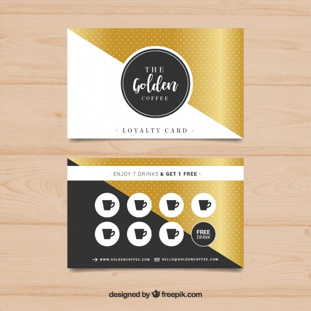 Freepik Graphic Resources For Everyone Loyalty Card Design Loyalty Card Template Business Card Template Design