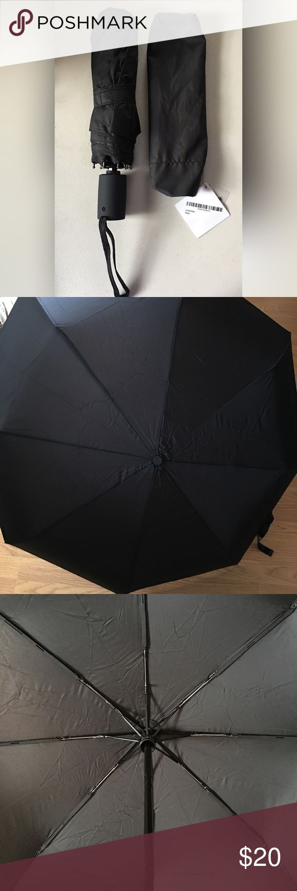 Auto Open/Close Umbrella BLACK ULTRA STRONG CONSTRUCTION; The Travel Umbrella has been designed with a super strong aluminium pole and ribs to offer market leading protection from wind, for a design that won't collapse! SUPER WIDE DESIGN; want a great automatic folding umbrella with the perfect size. Travel Umbrella offers the best size for covering 2 people fully from rain, measuring a generous 37 inches (94 cm) when fully open for the perfect coverage! LIGHT WEIGHT AND COMPACT; Accessories…