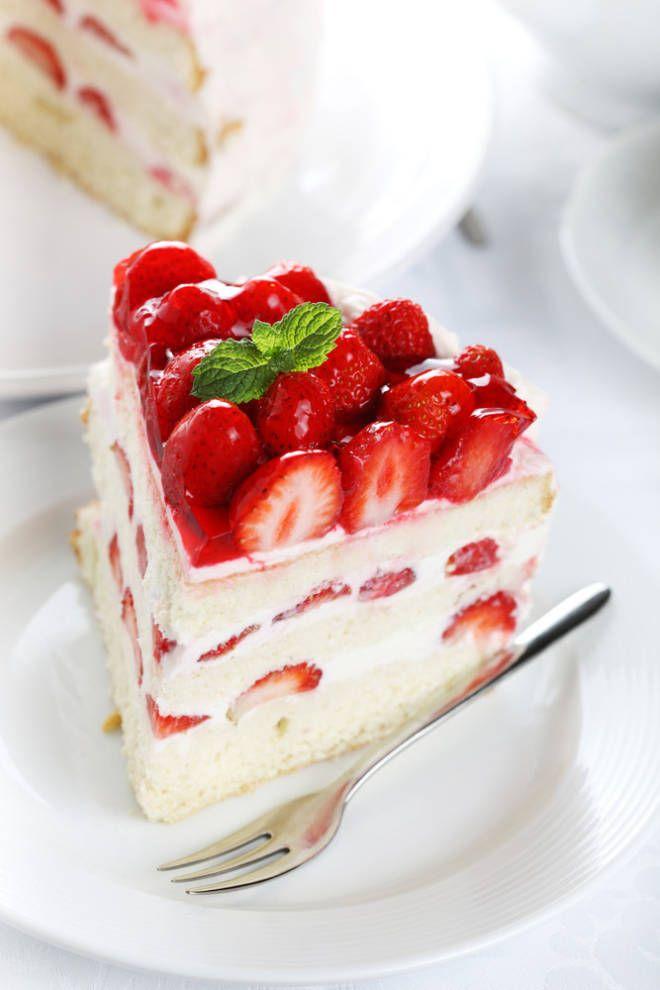 Strawberry Sparkle Cake Recipe — Dishmaps