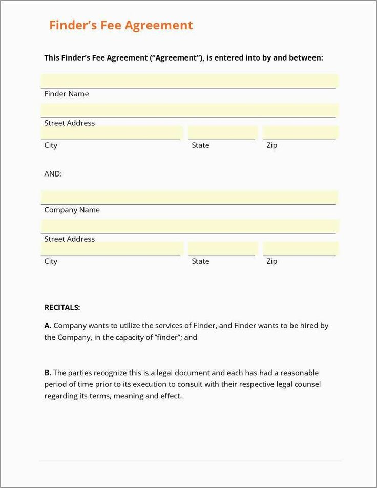 Free Real Estate Referral Form Template Pretty Business ...