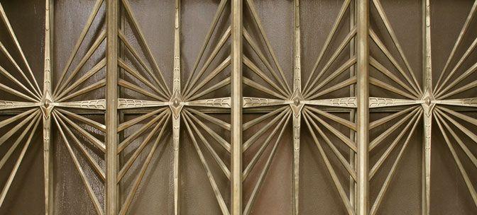 Decoration elements, Walker Tower, New York