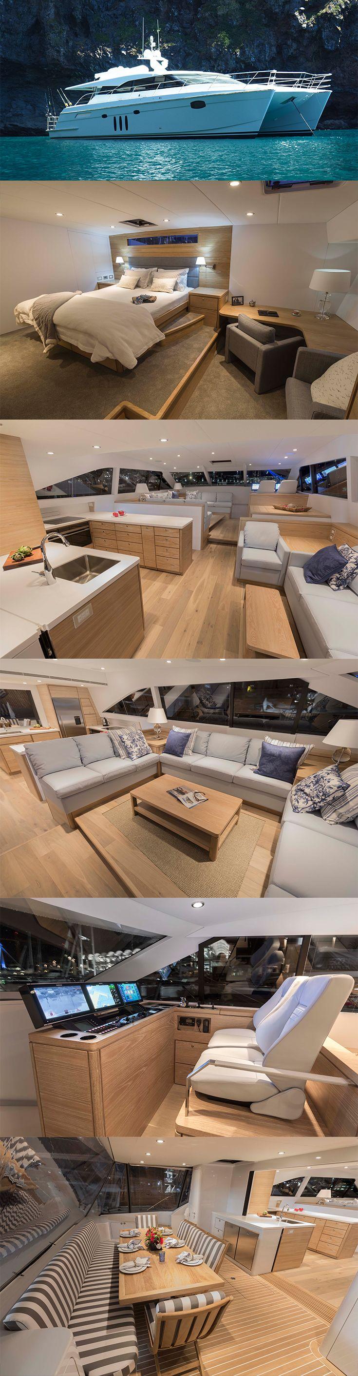 Pachoud Yachts 20m Long Range Cruising Catamaran - Lola