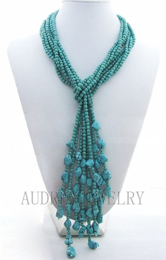 beadwork necklacebib necklacestatement by audreyjewelry on Etsy, $29.50