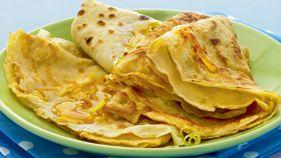 Basic pancakes. Uk pancake day recipe
