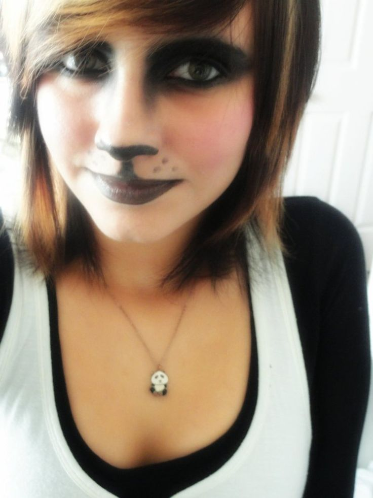Panda Make-up by ~xxneonmusicfreakxx on deviantART | Adorable ...