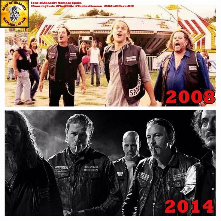 Sons Of Anarchy // Then & Now