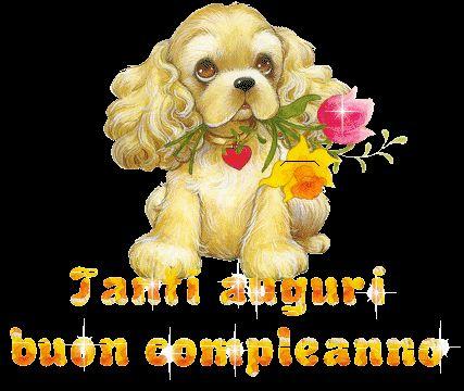Immagini, foto e animazioni di Buon compleanno - Tanti Auguri a Te, per congratularmi con ai vostri cari