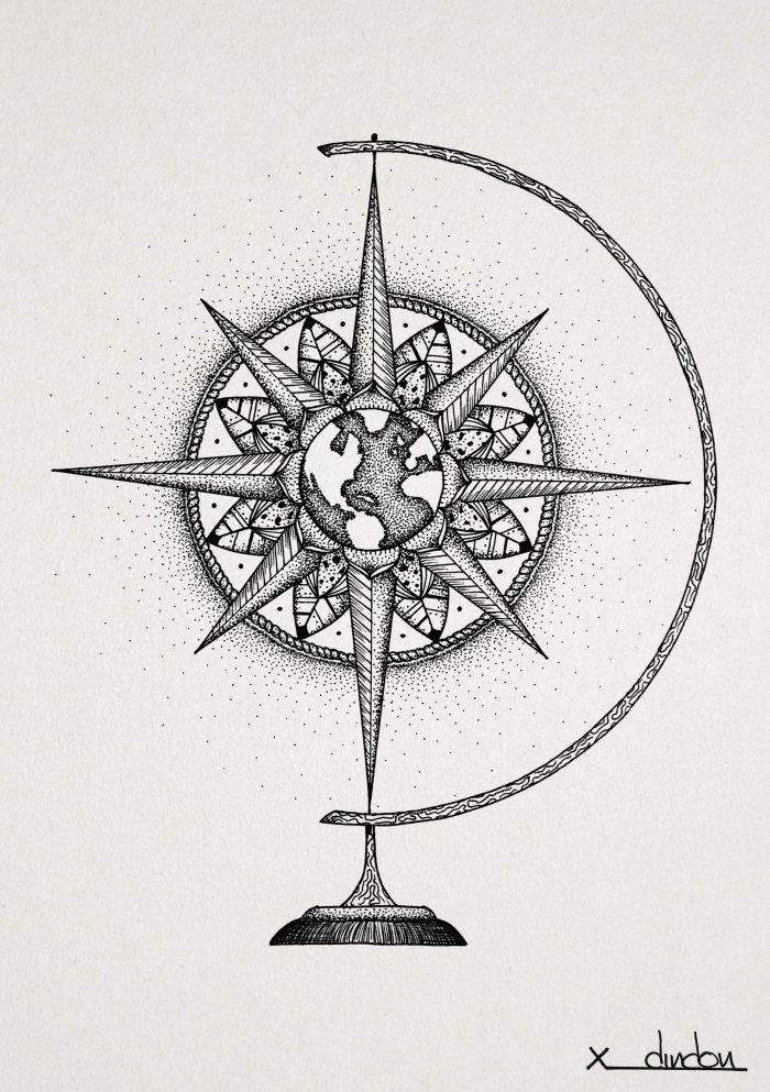 Compass_globe                                                       …