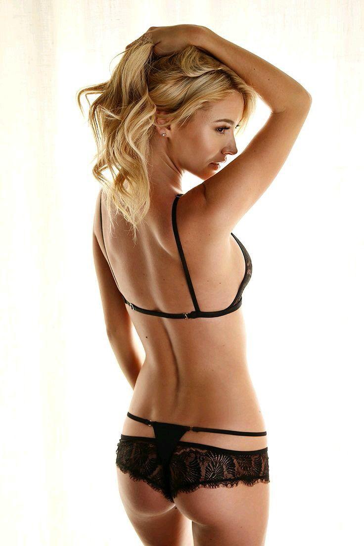 black bra blonde shallow this