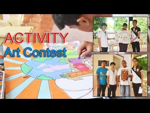 Poster Making Contest 2016 at Saint Francis College Guihulngan City - YouTube