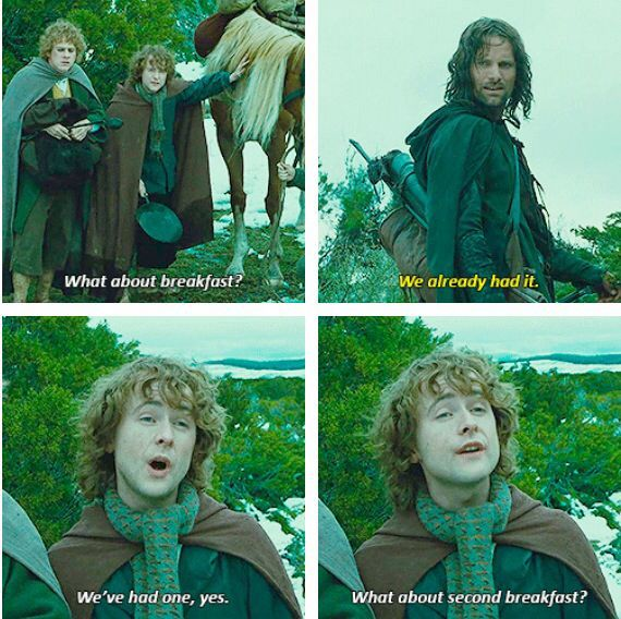 Day 5: Scene that makes me laugh - When Pippin is ...