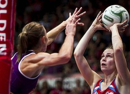 THE NSW Swifts continued their good form to clinch a shock five-point win over champions Queensland Firebirds - and there is plenty more to come, says co-captain Mo'onia Gerrard: ''What you saw there was only touching on what we say is our 100 per cent.''    Read more: http://www.smh.com.au/sport/netball/swifts-just-warming-up--gerrard-20120422-1xf4t.html#ixzz1spNLyeXW