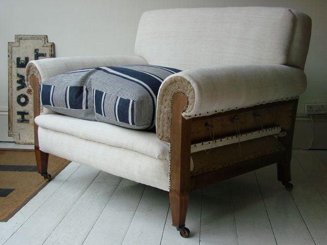 49 best made by howe easy armchairs images on pinterest for Bernard chaise lounge