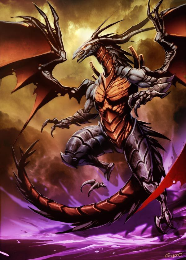 169 best half dragon anthro images on pinterest fantasy art bahamut by genzoman on deviantart pronofoot35fo Choice Image
