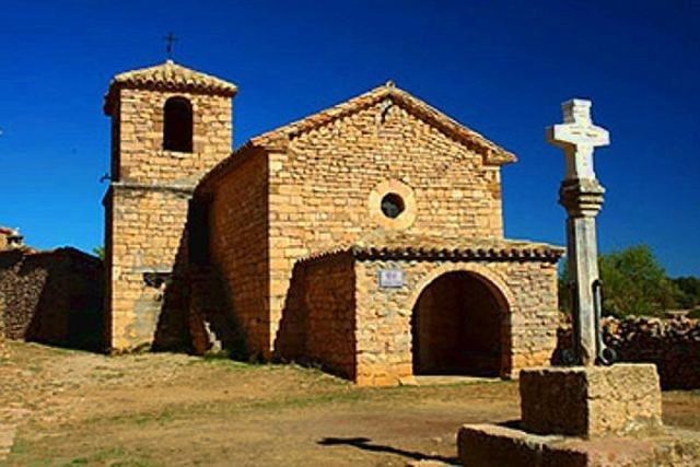 Alquézar. Huesca (Spain). Ermita de san Gregorio