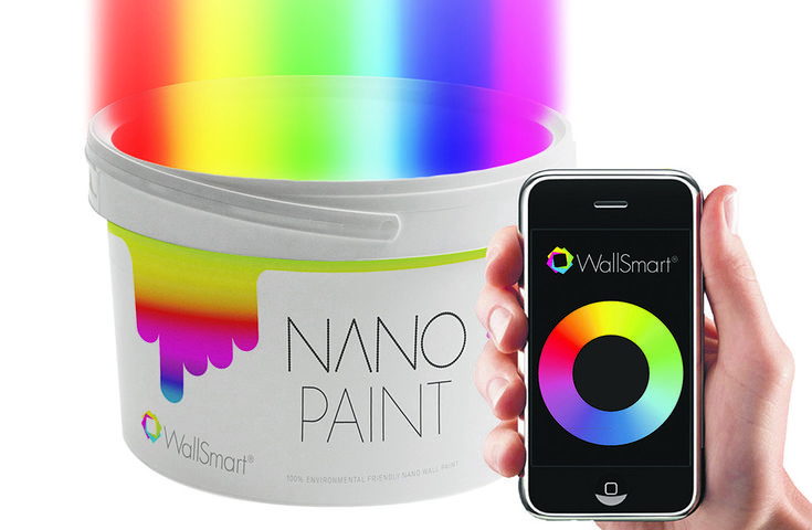 Change wall paint color by app l wallsmart interactive for App for painting walls
