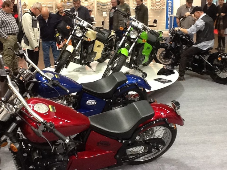 #johnnypag #motorcycles on #Intermot 2012 Jermany