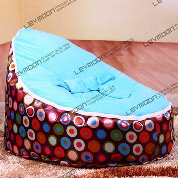 FREE SHIPPING Baby Bean Bag Cover With 2pcs Sky Blue Cover Baby