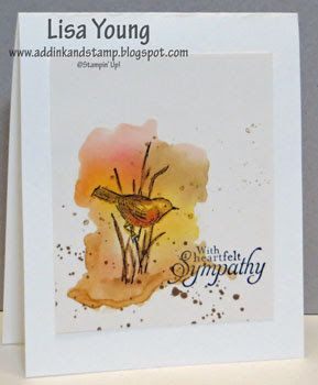 Add Ink and Stamp: Simply Sketched Watercolor