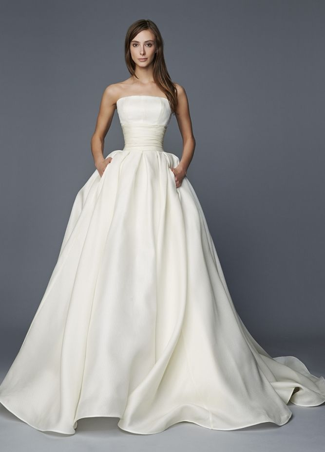Sissi Antonio Riva Wedding dress bmodish... what a tiny waist this dress gives you.