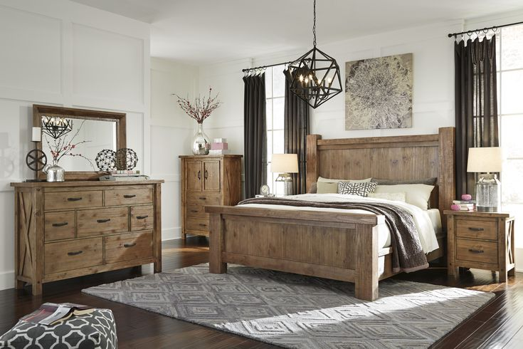 Best 25 rustic bedroom sets ideas on pinterest farmhouse bedroom furniture sets white for Ashley furniture bedroom suites