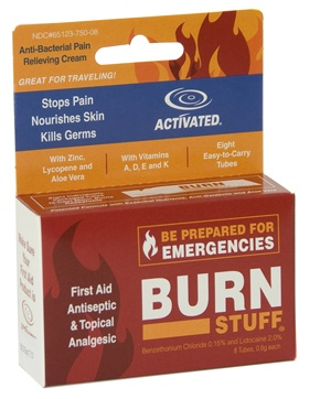 I don't know what' up with the rest of the products on this site, but this Burn Stuff REALLY works to stop the pain when you burn yourself.