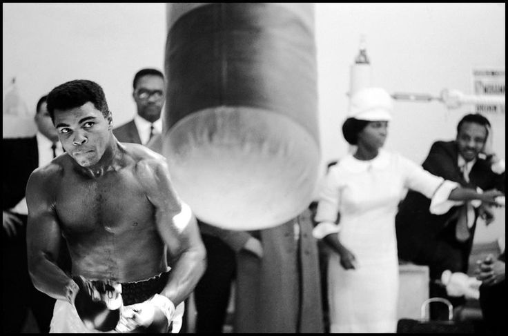 GREAT BRITAIN. London 1966. Muhammad Ali training prior to a fight. @magnumphotos by thomashoepker