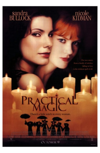 """Practical Magic, i love is movie!!! """"where did you get this bottle from?"""" """"someone left it on the poarch, someone left it on the poarch"""" lol"""