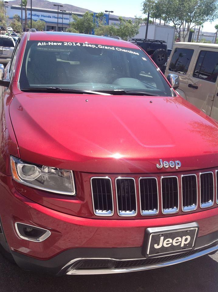 2014 #Jeep Grand Cherokee