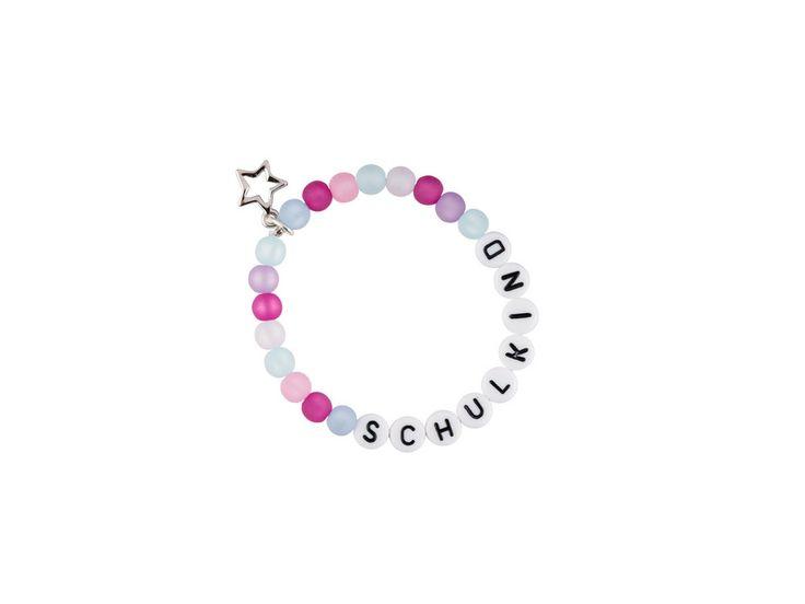 Namensarmbänder - Schulkind-Armband - Mädchen - ein Designerstück von Gluecksschmiedin-Shop bei DaWanda