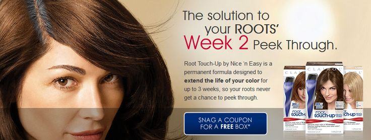 VOCALPOINT $$ FREE Box of Clairol Root Touch-Up by Nice 'n Easy + Coupons for $2 off – Working Now!