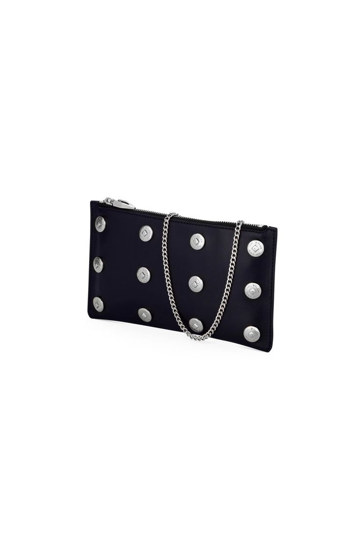 Dylan Kain  - The Claudia Clutch - Silver