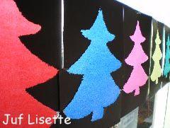Knutselen: Kerstboom