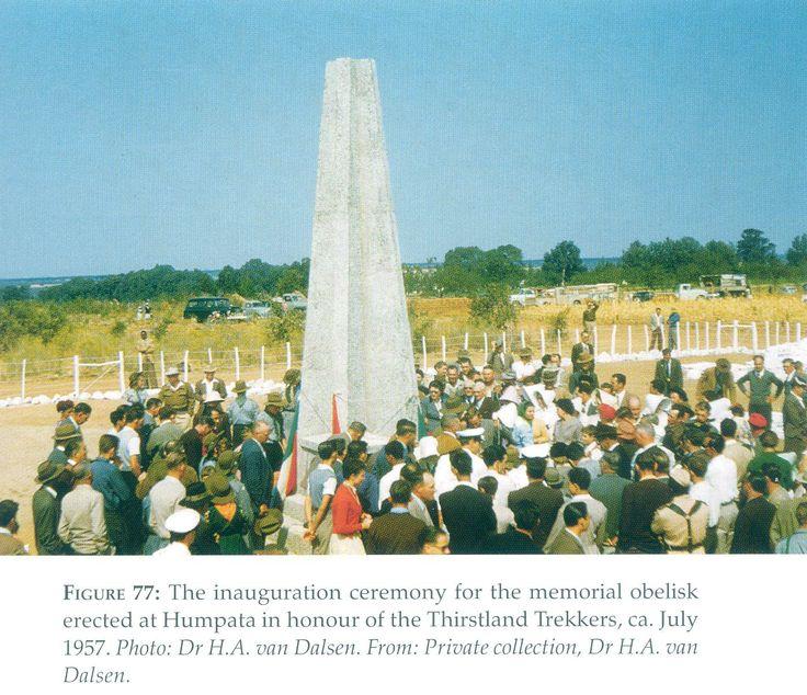 Dorsland Monument Humpata,Angola - 1957