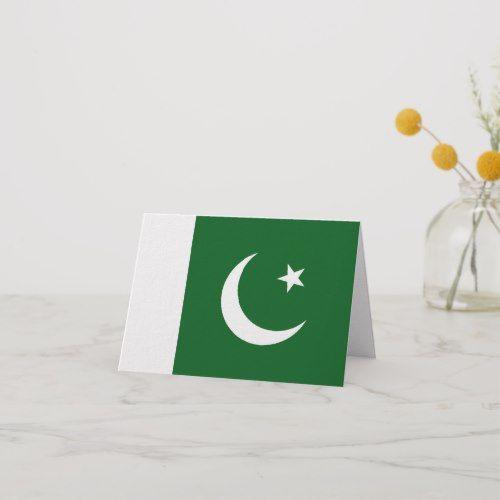 Pakistan Flag Notecard Zazzle Com Pakistan Flag Pakistani Flag Note Cards