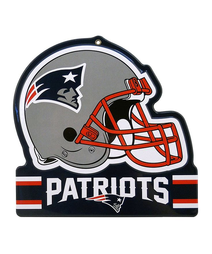 Take a look at this New England Patriots Helmet Sign today!