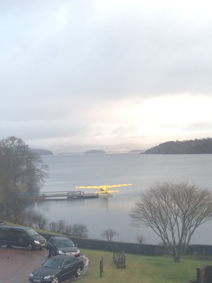 Loch Lomond, Scotland, looking out from Cameron House