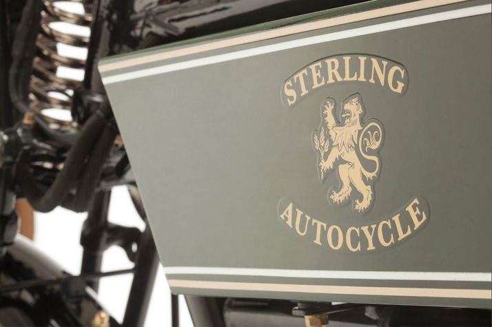 THE BLACK DOUGLAS MOTORCYCLE || NationalTraveller.com