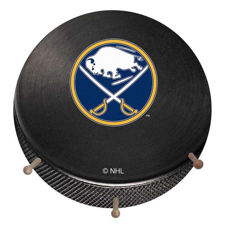 Buffalo Sabres Hockey Puck Coat Hanger, Multicolor