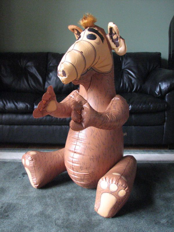 Rare Inflatable Collectible Vintage Alf Toy Old Weird