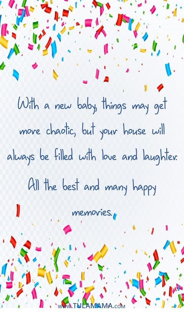 What To Write In A Baby Shower Card According To Those Who Actually