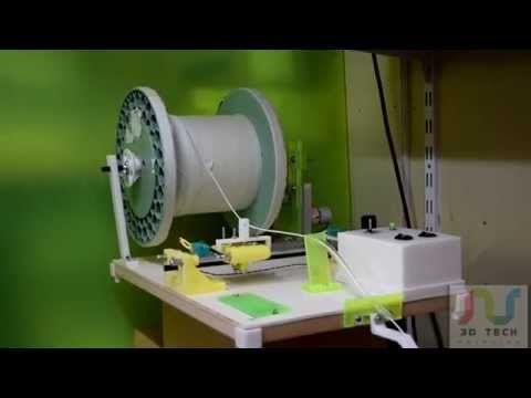 (3) filament winder - YouTube