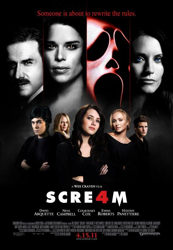 Scream 4 Cast Poster